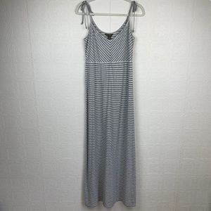 Tommy Bahama Maxi Dress Medium Adjustable Gray 151